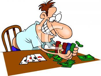 Man Winning at Poker Clip Art | Clipart Panda - Free Clipart Images