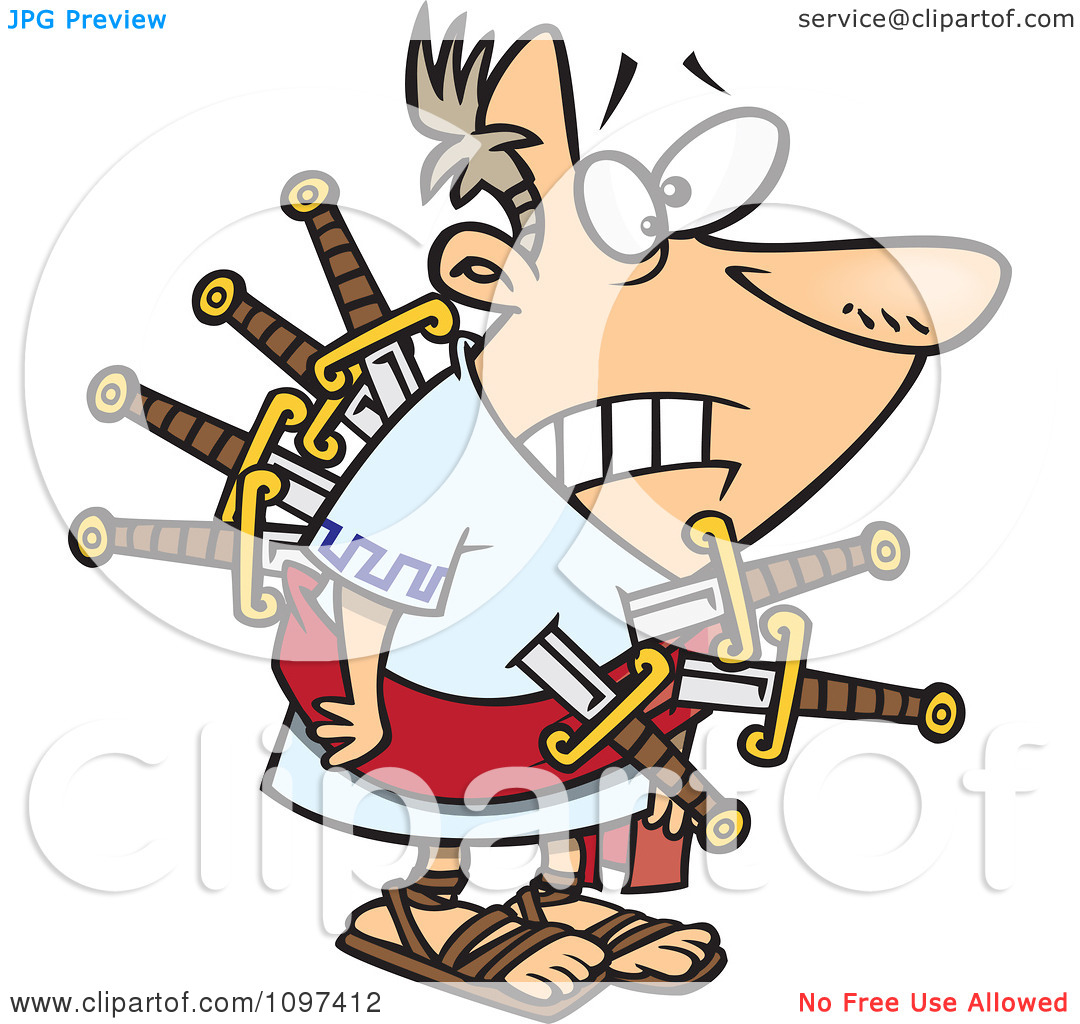 betrayal-clipart-Clipart-Betrayed-Julius-Caesar-Stabbed-With-Swords-On ...