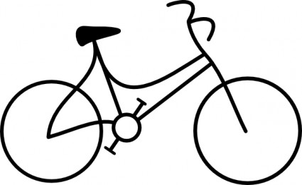 Clip Art Clipart Bicycle bike wheel clipart panda free images