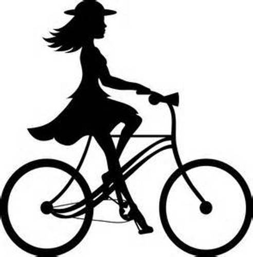 free clip art bike rider - photo #5