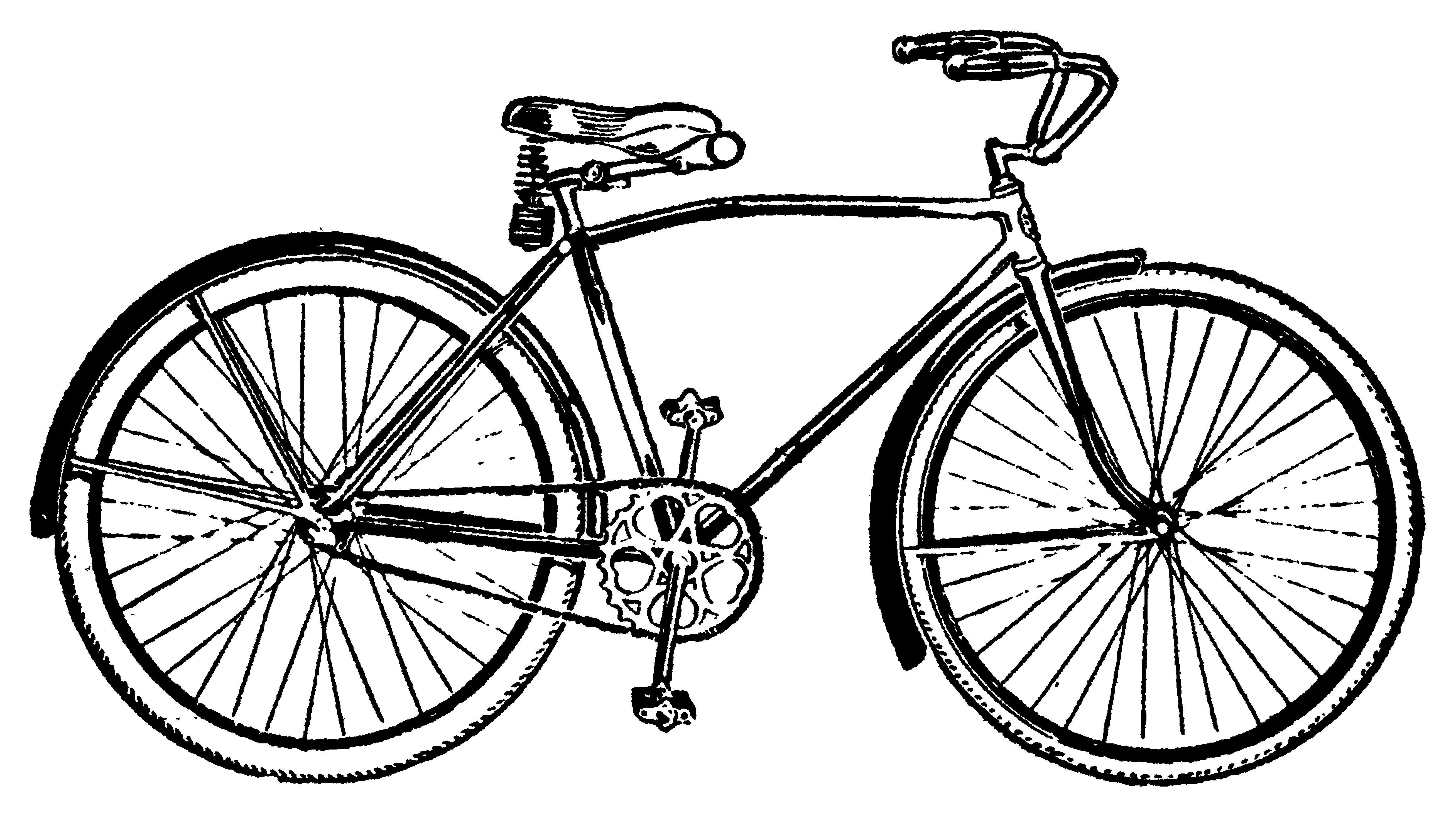 bike vintage bicycle clip art clipart panda free clipart images rh clipartpanda com bicycle clipart black and white bicycling clip art