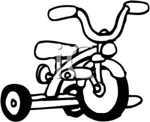 Bike Clipart Black And White