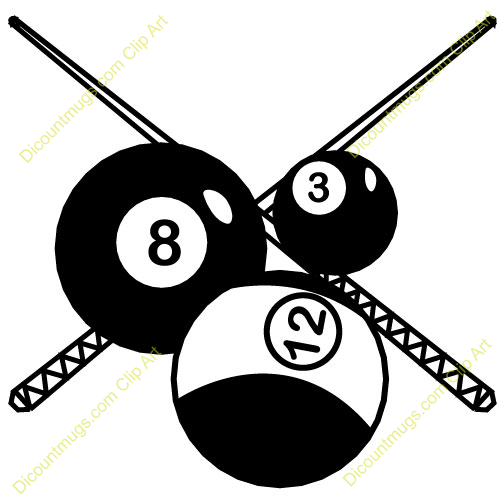 Billiards Ball Clipart Clipart Panda Free Clipart Images