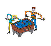 Playing Billiards | Clipart Panda - Free Clipart Images