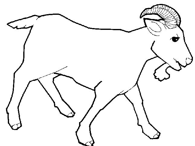 Goat Clipart Bl...