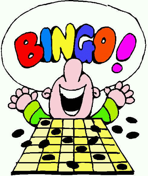 Image result for bingo clipart