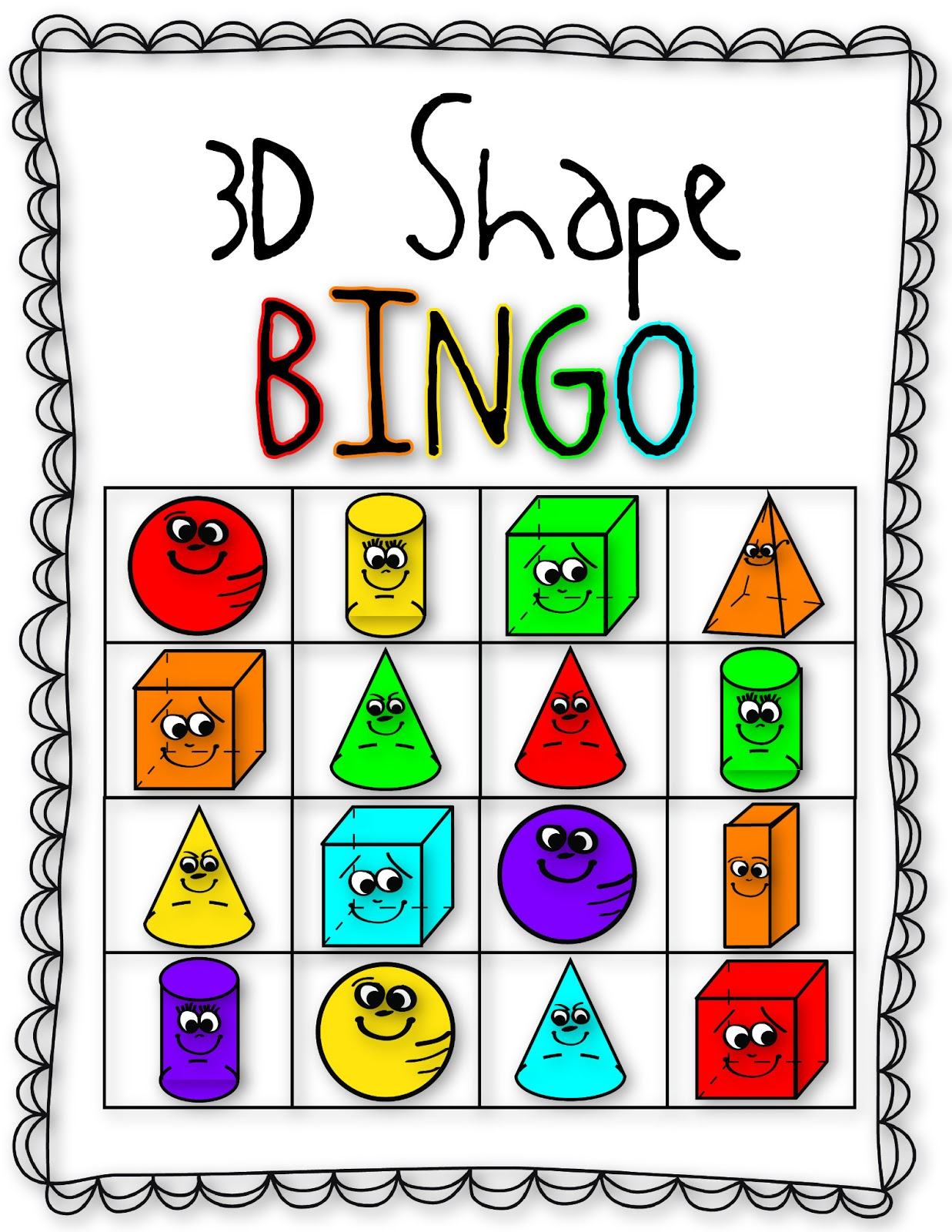 Viewing Gallery For - Bingo Clipart