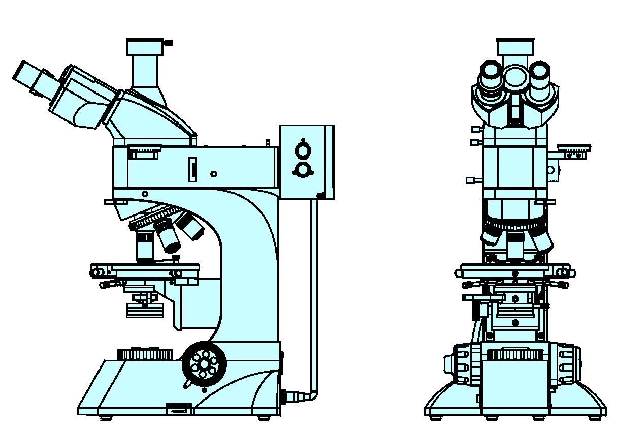 Binocular Microscope Diagram | Clipart Panda - Free Clipart Images