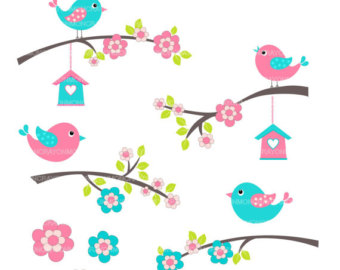 Pink flower border clip art clipart panda free clipart images bird20clipart mightylinksfo