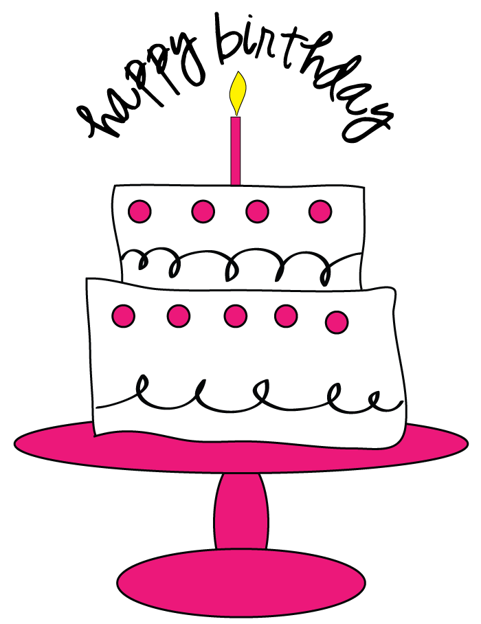 Clip Art Birthday Cake Clip Art Free free birthday cake clip art clipart panda images
