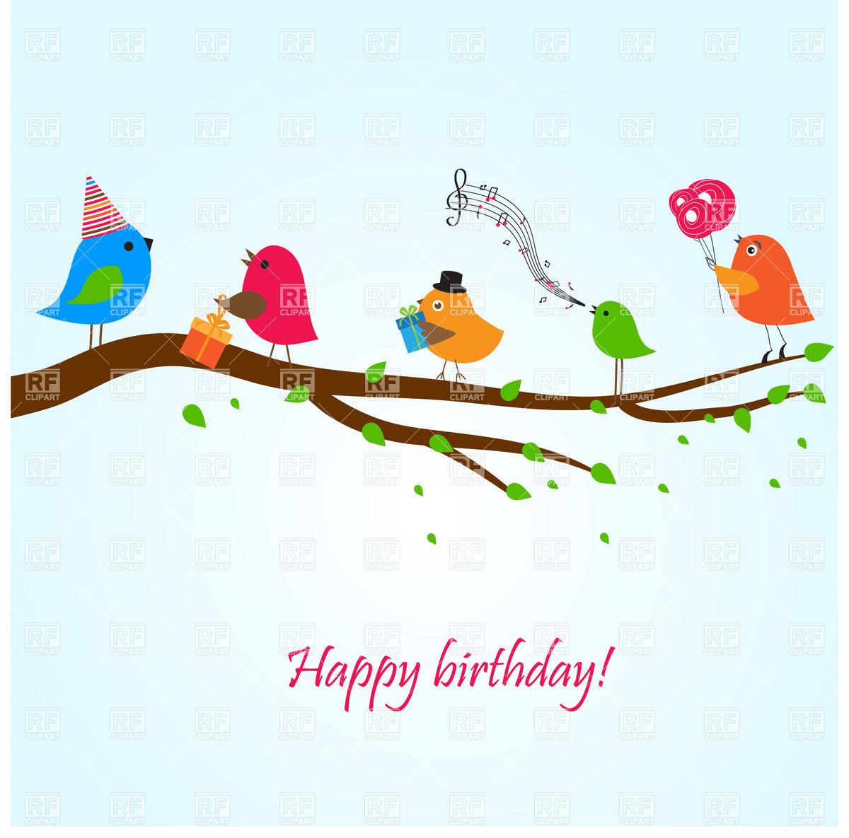 Clip Art Happy Birthday Greeting