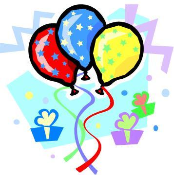 Free Birthday Balloon Clip Art | Clipart Panda - Free Clipart Images