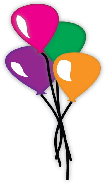 Birthday Balloons Clip Art | Clipart Panda - Free Clipart Images