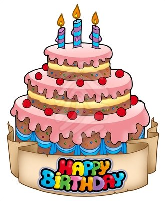 Cake Happy Birthday Clip Art Man