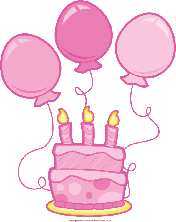 Number  Birthday Cake Clip Art