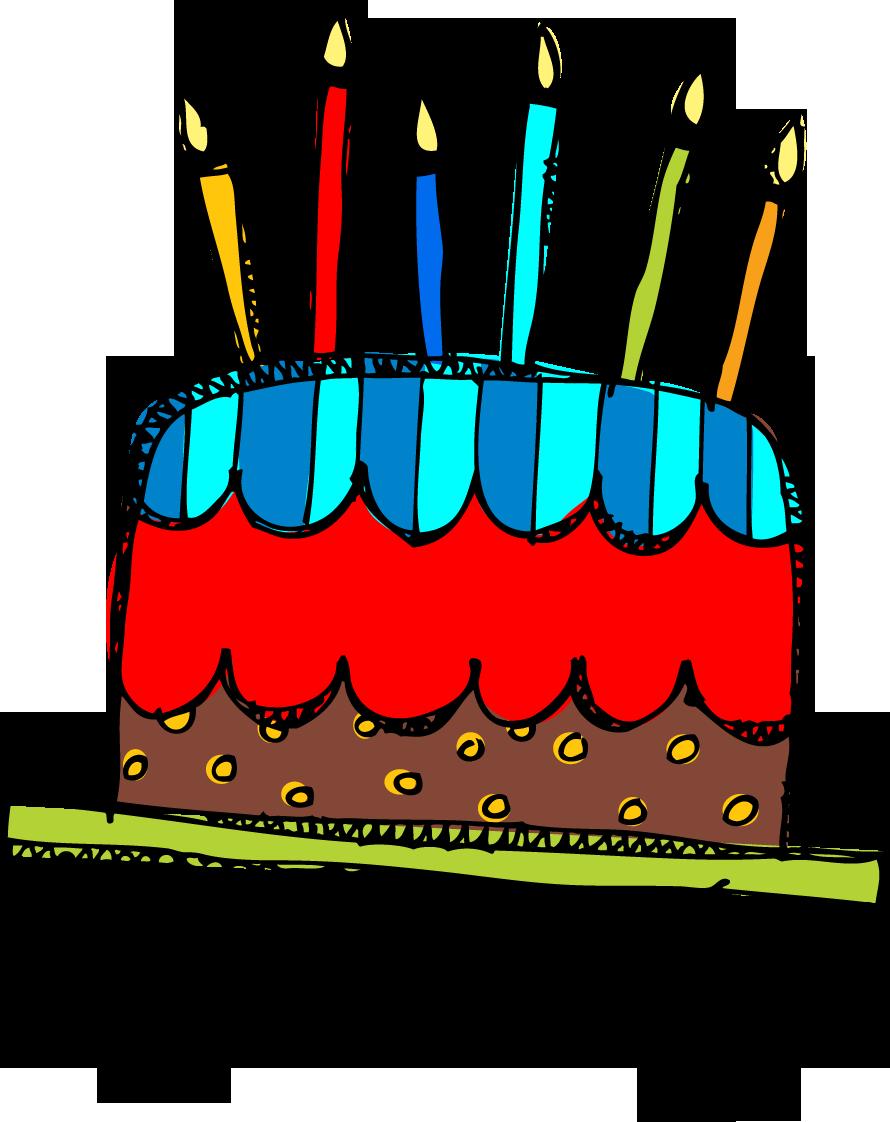 Birthday Cake Clip Art Png | Clipart Panda - Free Clipart ...