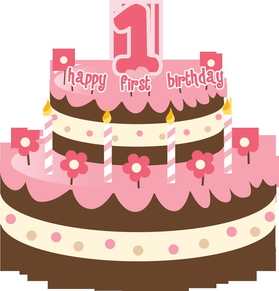 First Birthday Cake Clip Art Birthday Cake Clip Art...