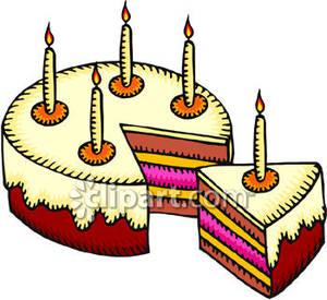 Birthday cake slice clip art clipart panda free - Clipart anniversaire gratuit ...