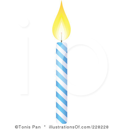 Birthday Candle Clip Art Black And White | Clipart Panda ...