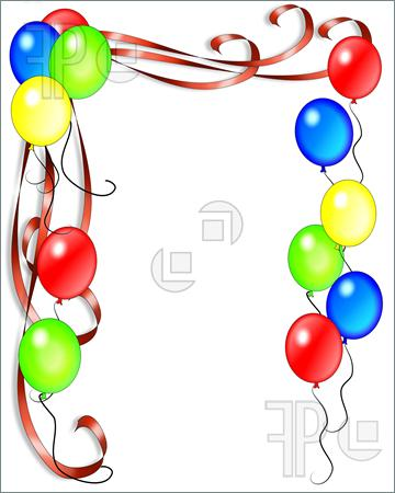 Birthday Border Clipart | Clipart Panda - Free Clipart Images