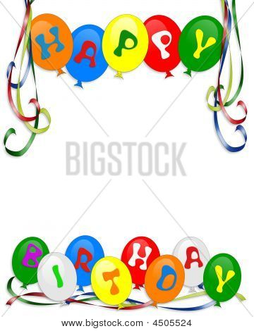 Balloon Letters Clip Art