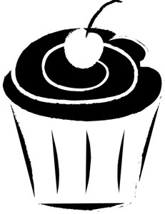 birthday%20cupcake%20clipart%20black%20and%20white