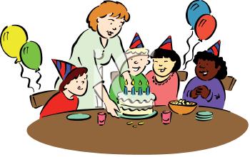 Clip Art Birthday Party