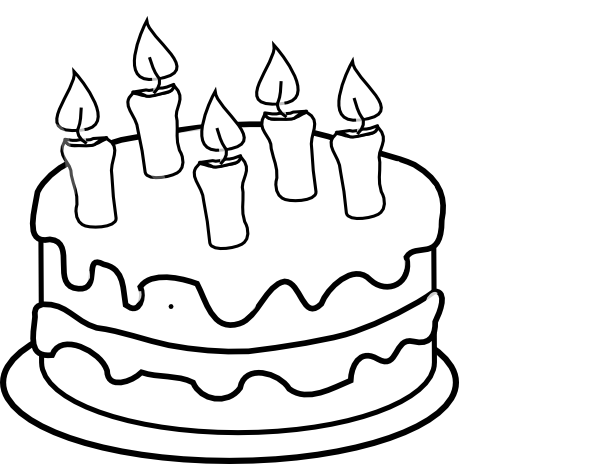 Birthday Party Clip Art Black And White Clipart Panda