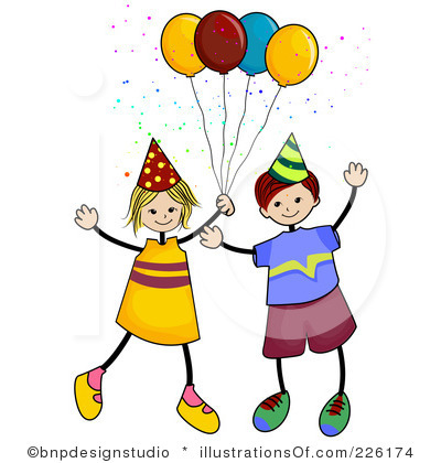 birthday party clipart birthday party clipart