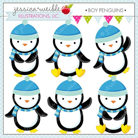 birthday penguin clip art