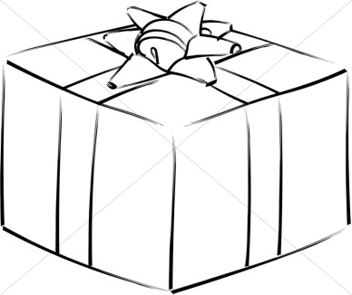 birthday%20presents%20clipart%20black%20and%20white