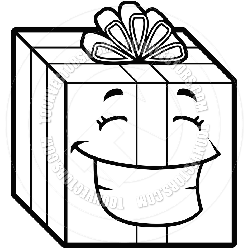 Birthday Present Clipart Black And White | Clipart Panda - Free ... for Birthday Gift Clipart Black And White  61obs