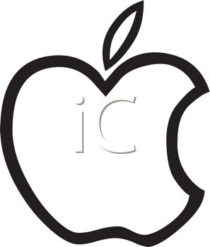 Apple Clip Art Black And White Clipart Panda Free Clipart Images