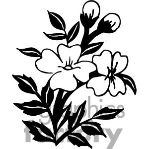 Black and white flower border clipart clipart panda free clipart black20clip20art mightylinksfo