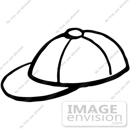 Baseball Hat Clip Art Black And White Baseball hat clipart black and