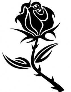 rose clip art black and white clipart panda free clipart images rh clipartpanda com rose plant black and white clipart red rose black and white clipart