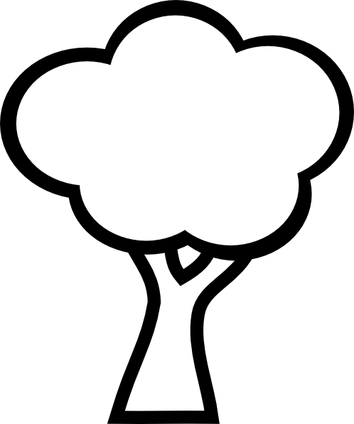 Black And White Apple Tree Clipart | Clipart Panda - Free ...