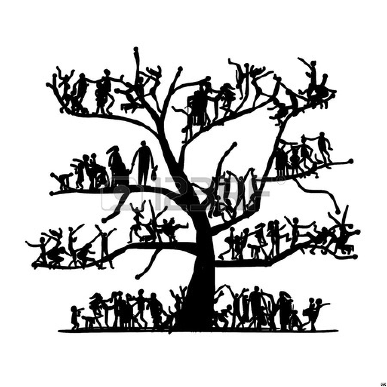family tree clip art black and white clipart panda free clipart rh clipartpanda com planting trees clipart black and white tree clip art black and white no leaves