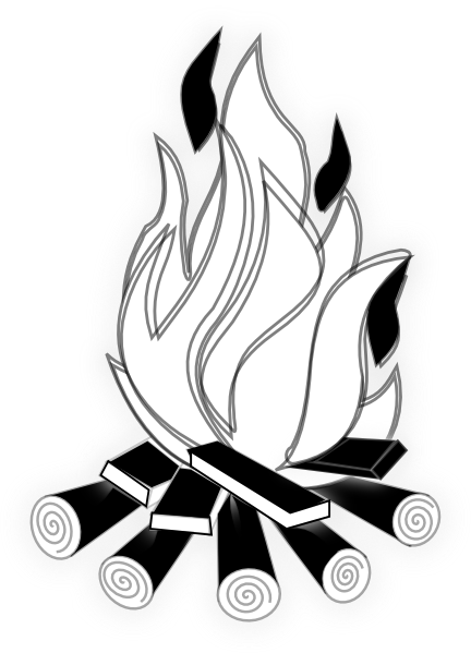 Fantastic Fireplace Clipart Black And White Clipart Panda Free Home Interior And Landscaping Palasignezvosmurscom