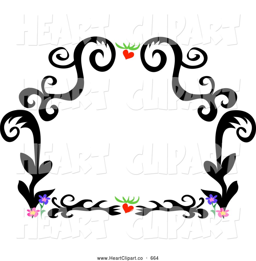 black%20and%20white%20flower%20border%20clipart