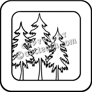 Black And White Forest Clipart | Clipart Panda - Free Clipart Images
