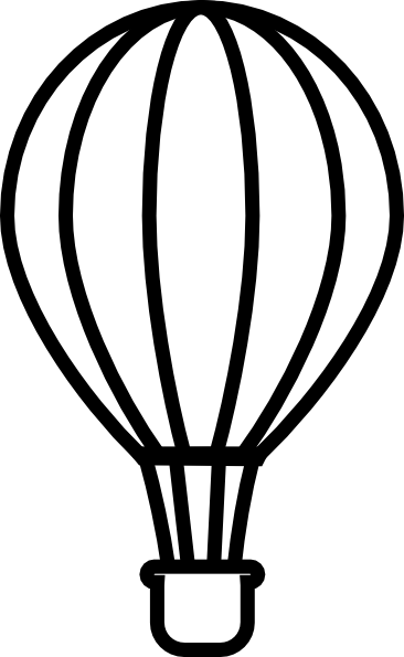 black%20and%20white%20hot%20air%20balloon%20clipart
