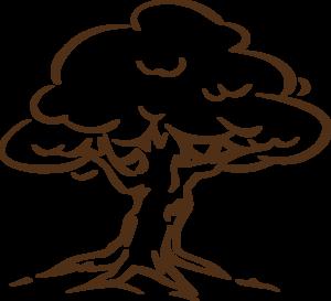 Black And White Oak Tree Clipart | Clipart Panda - Free ...