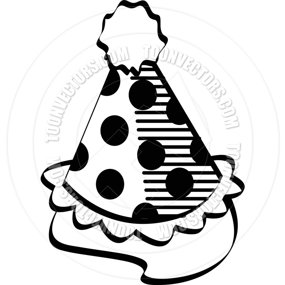 Party Hat Clip Art Black And White | Clipart Panda - Free ...