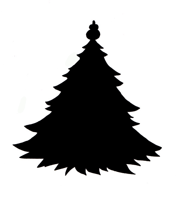 Black And White Pine Trees Clipart | Clipart Panda - Free ...