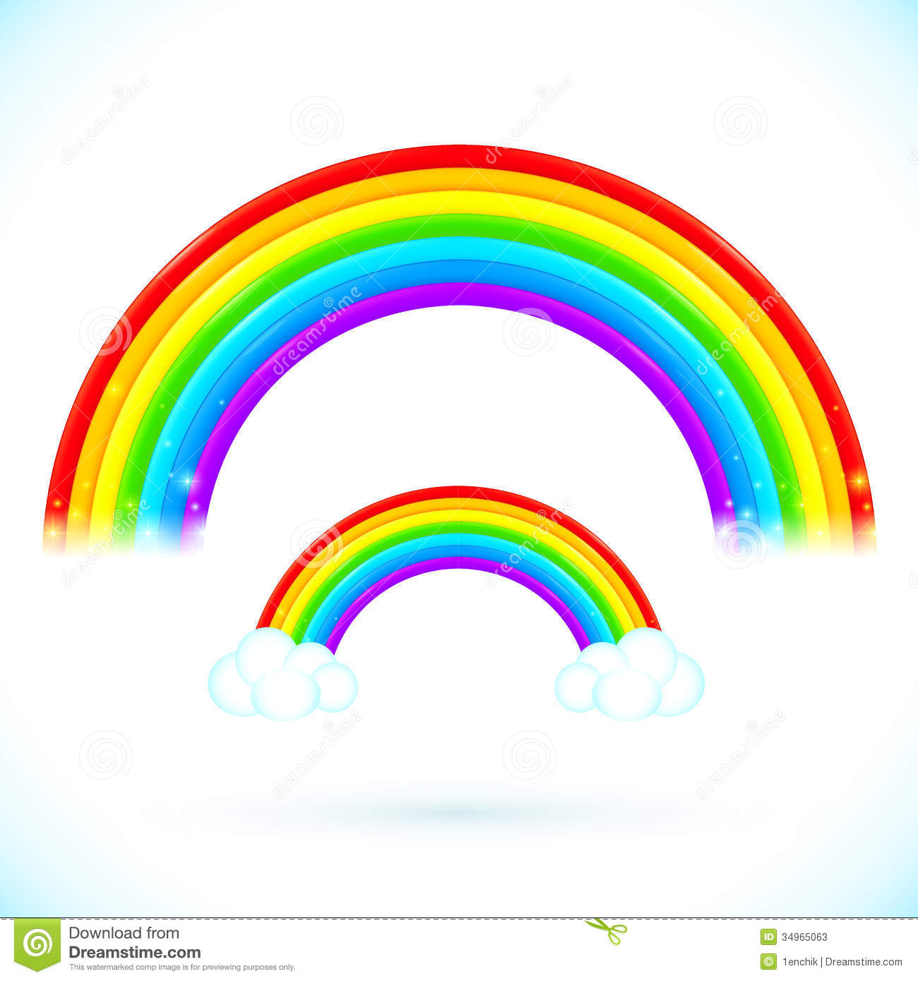 Black And White Rainbow Outline | Clipart Panda - Free Clipart Images