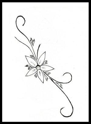 Cute simple girl tattoo ideas hot girls wallpaper for Small flower designs