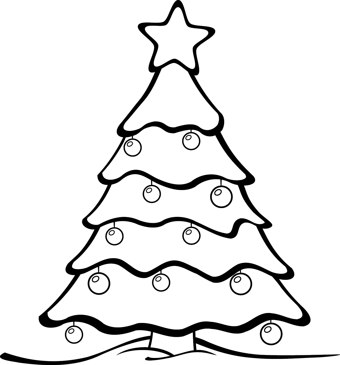 black-and-white-tree-clipart-christmas-tree-clip-art-black-and-white ...