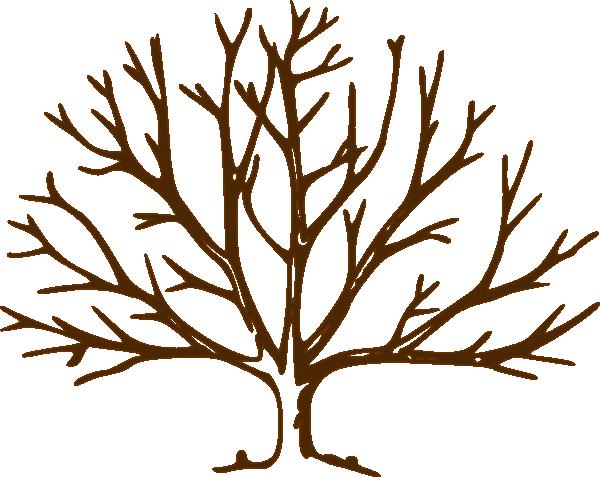 Clip Art Brown Tree Br...