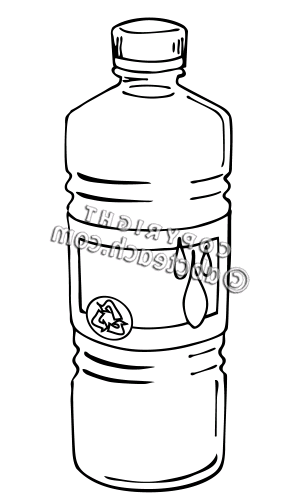 Water Bottle Clipart Black And White | Clipart Panda ...